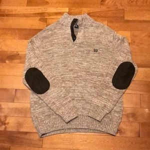 Very Nice Chaps snit sweater with elbow patches